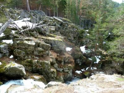 La Chorranca-Cueva Monje-Cerro del Puerco;rutas por madrid y alrededores puente de pilar